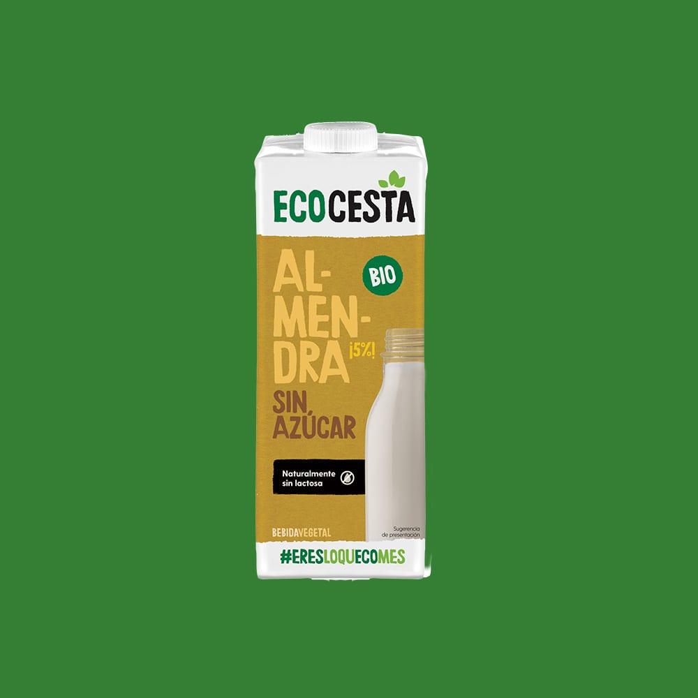 Bebida vegetal de almendra sin azúcar Bio, 1l