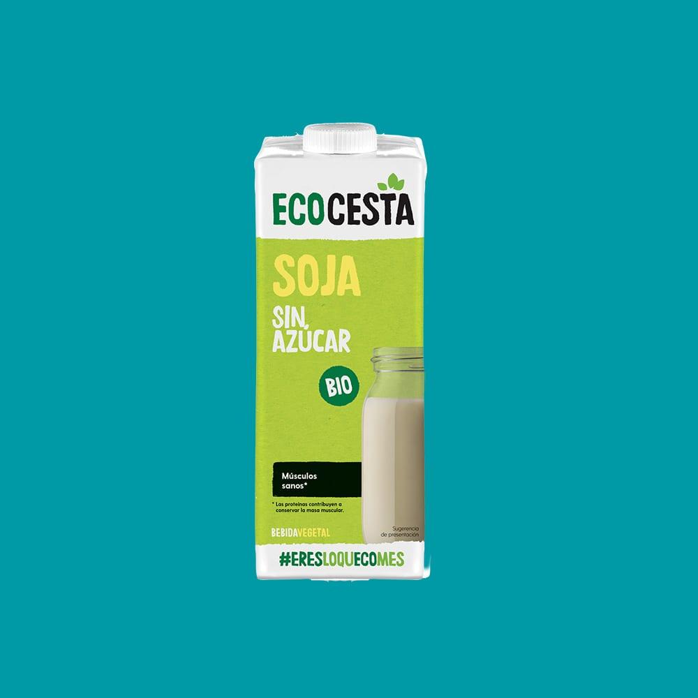 Bebida Vegetal de Soja sin Azúcar Bio, 1L