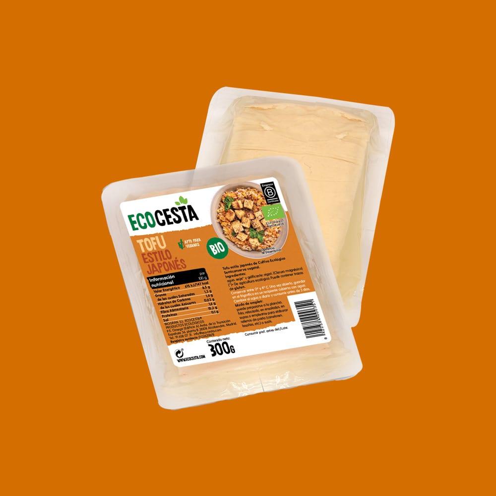 Tofu Estilo Japonés Fresco Bio, 300 g