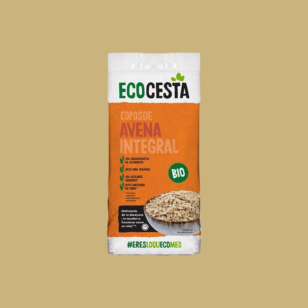 Copos de Avena Integral Bio, 500 g