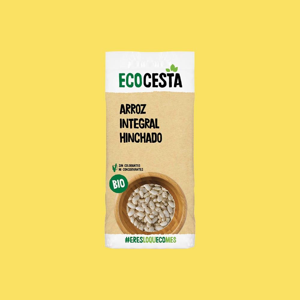 Arroz Integral Hinchado Bio, 125 g