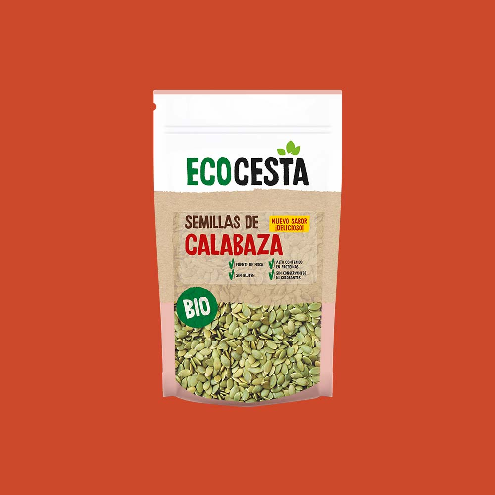 Semillas de Calabaza Bio, 450 g