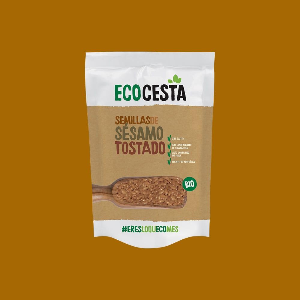 Semillas de Sésamo Tostado Bio, 450 g