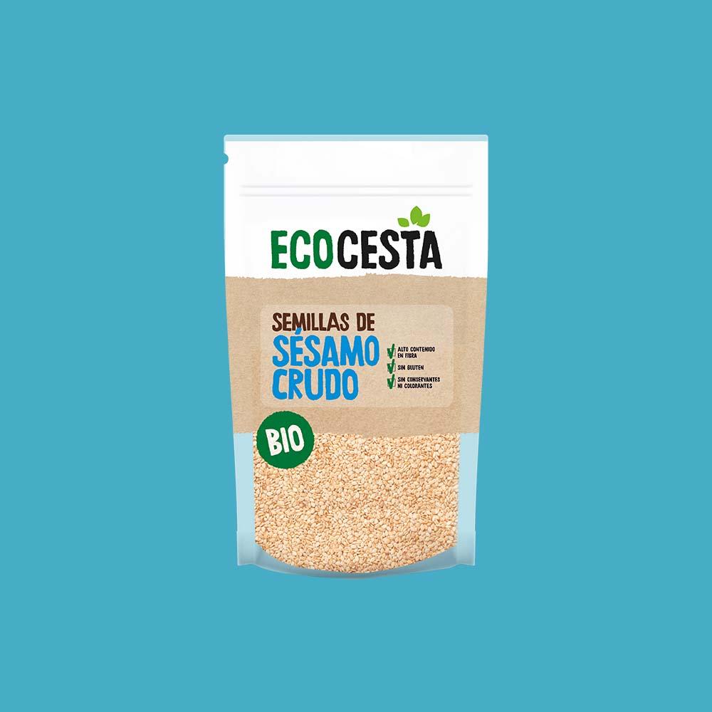 Semillas de Sésamo Crudo Bio, 250 g