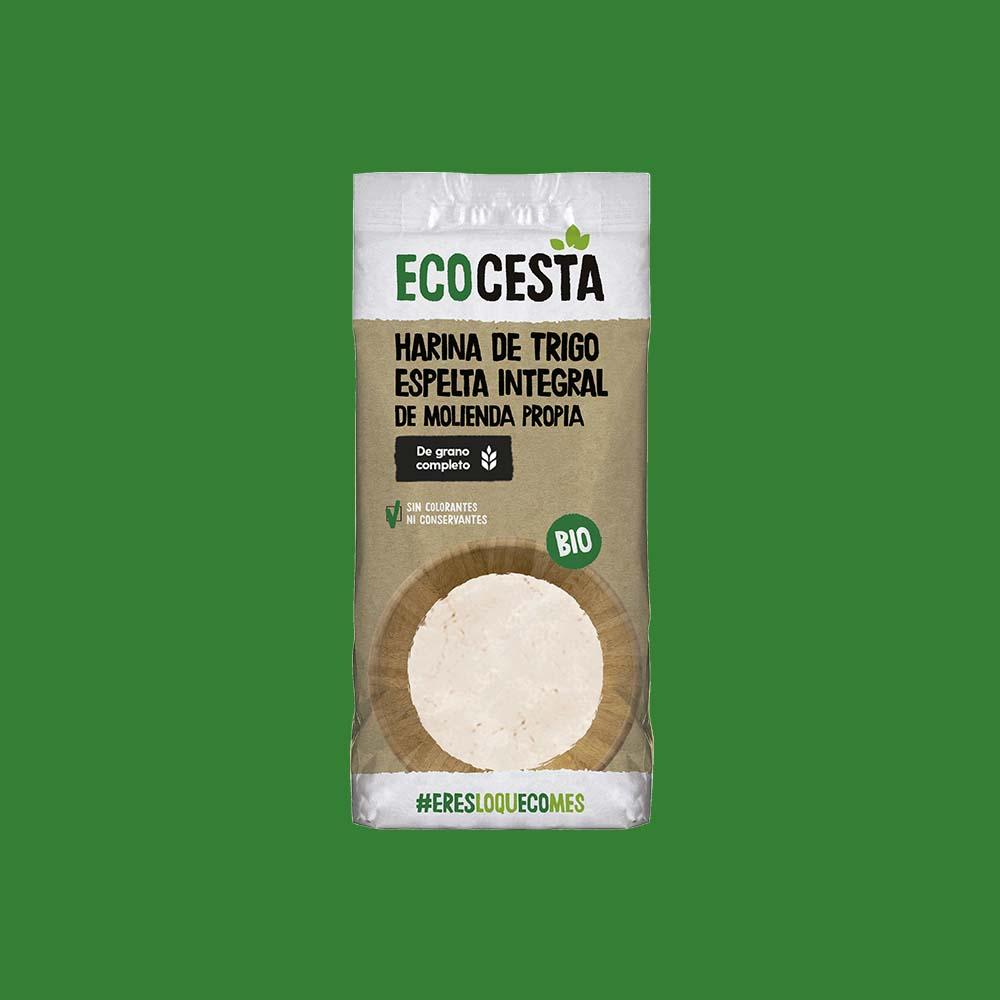 Harina de Trigo Espelta Integral Bio, 500 g