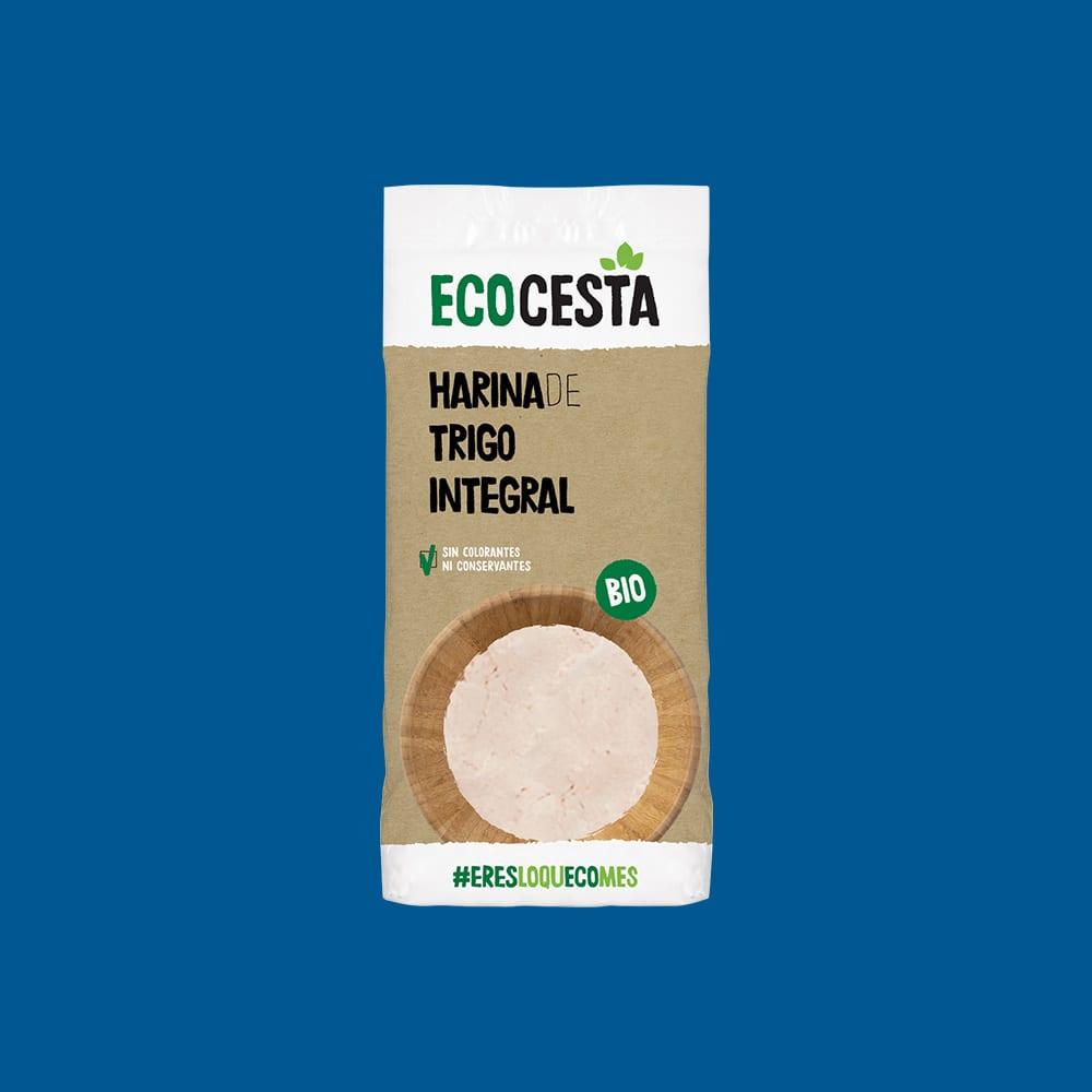 Harina de Trigo Integral Bio, 500 g