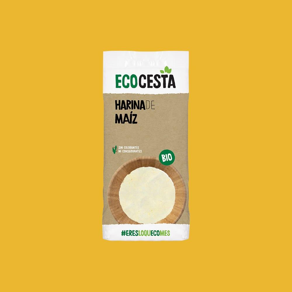 Harina de Maiz Bio 500 g
