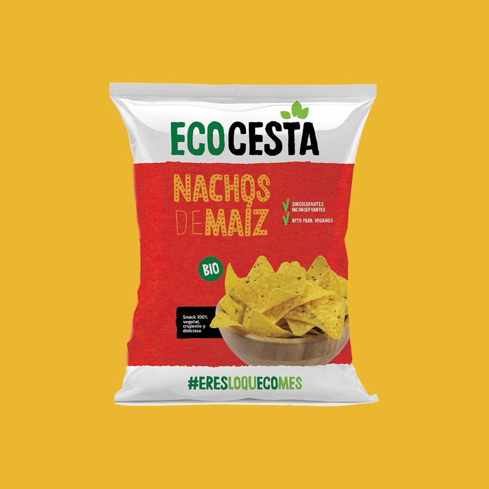 Nachos de Maíz Naturales Bio, 125 g