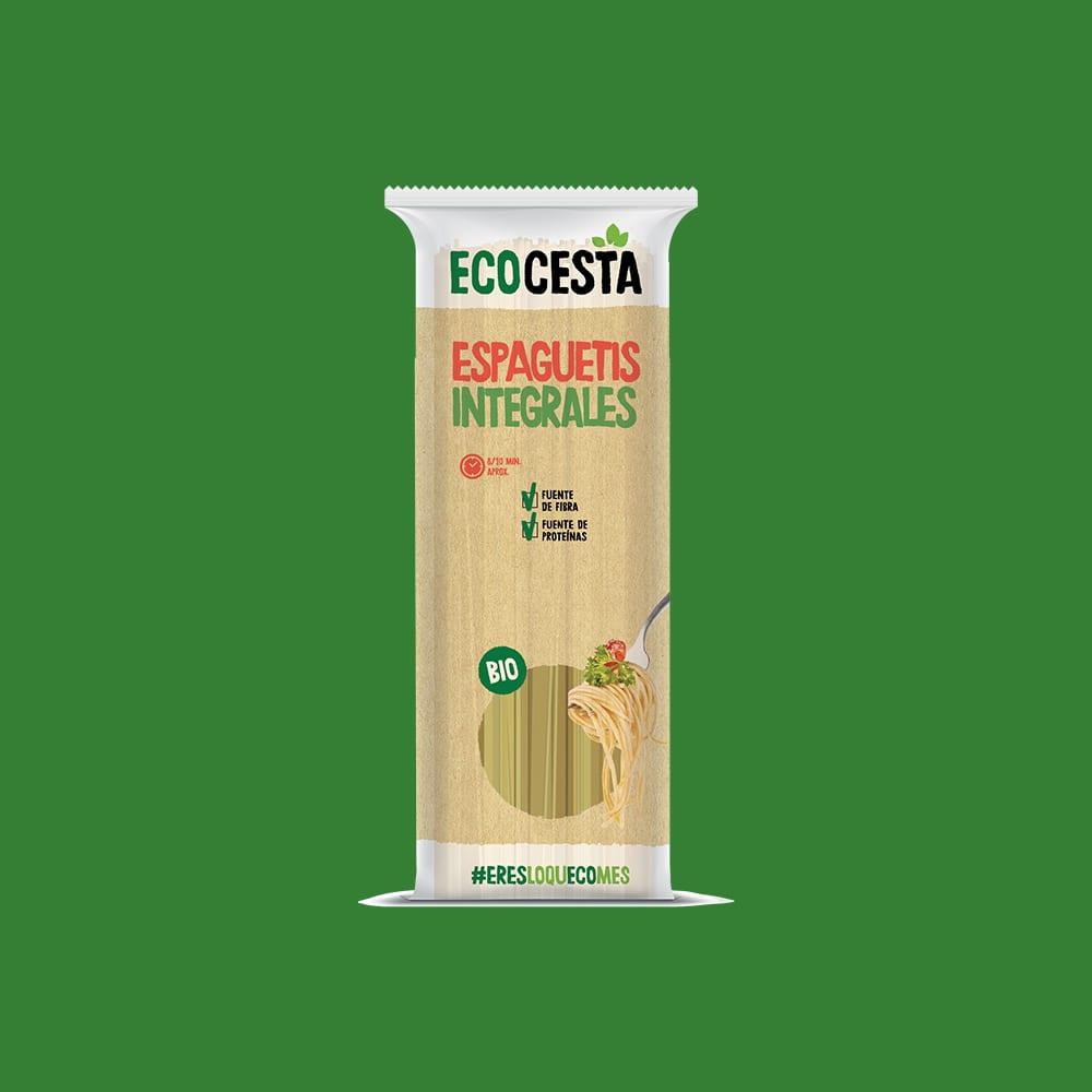 Espaguetis Integrales Bio, 500 g