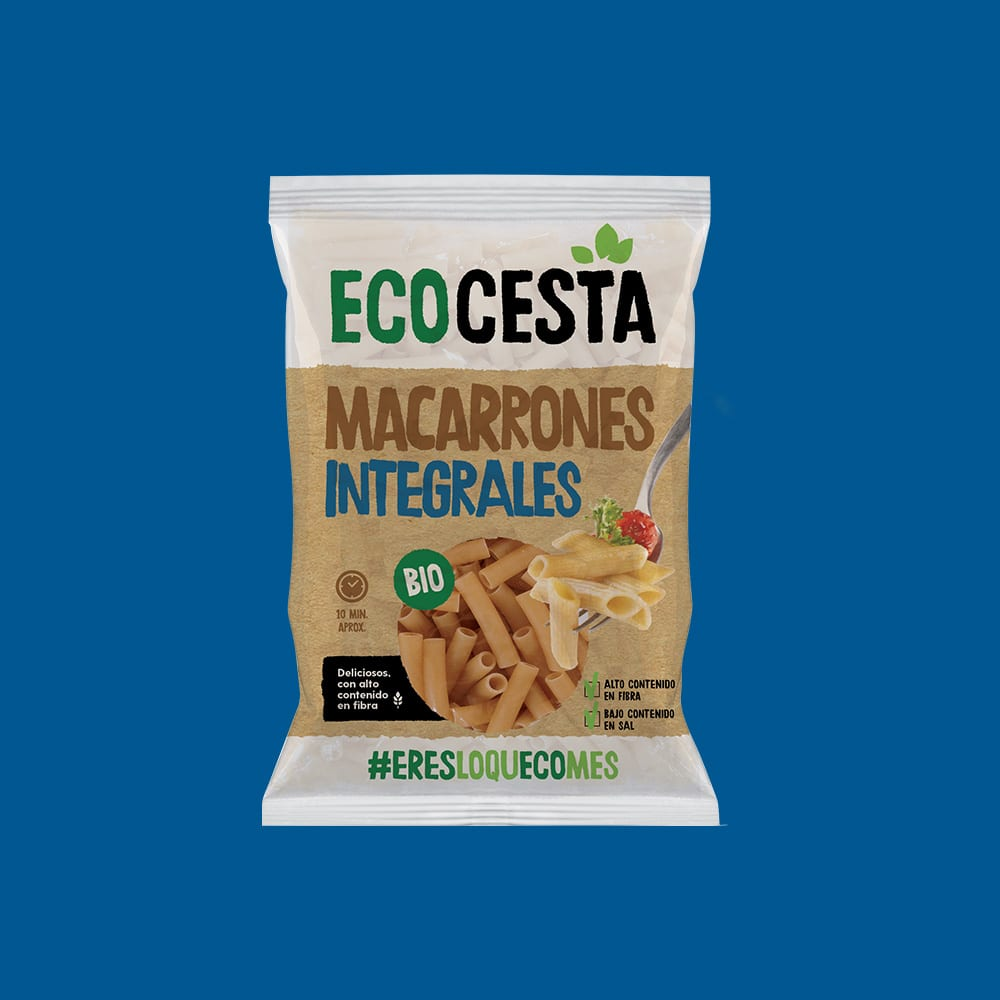 Macarrones Integrales Bio, 500 g