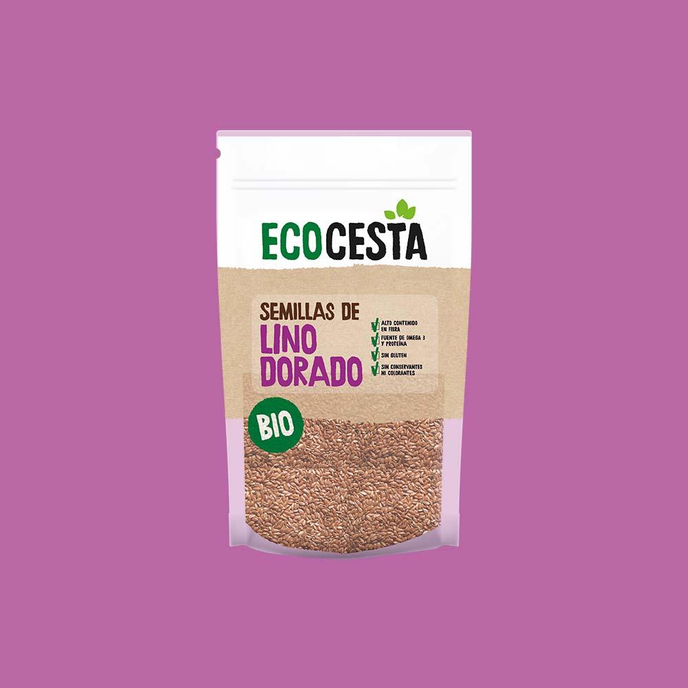 Semillas de Lino Dorado Bio, 250 g