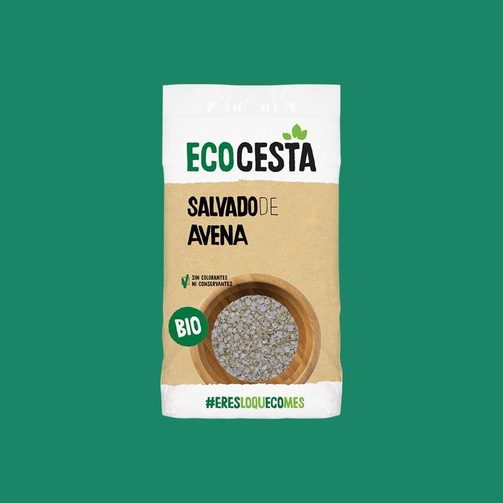 Salvado de Avena Bio, 500 g