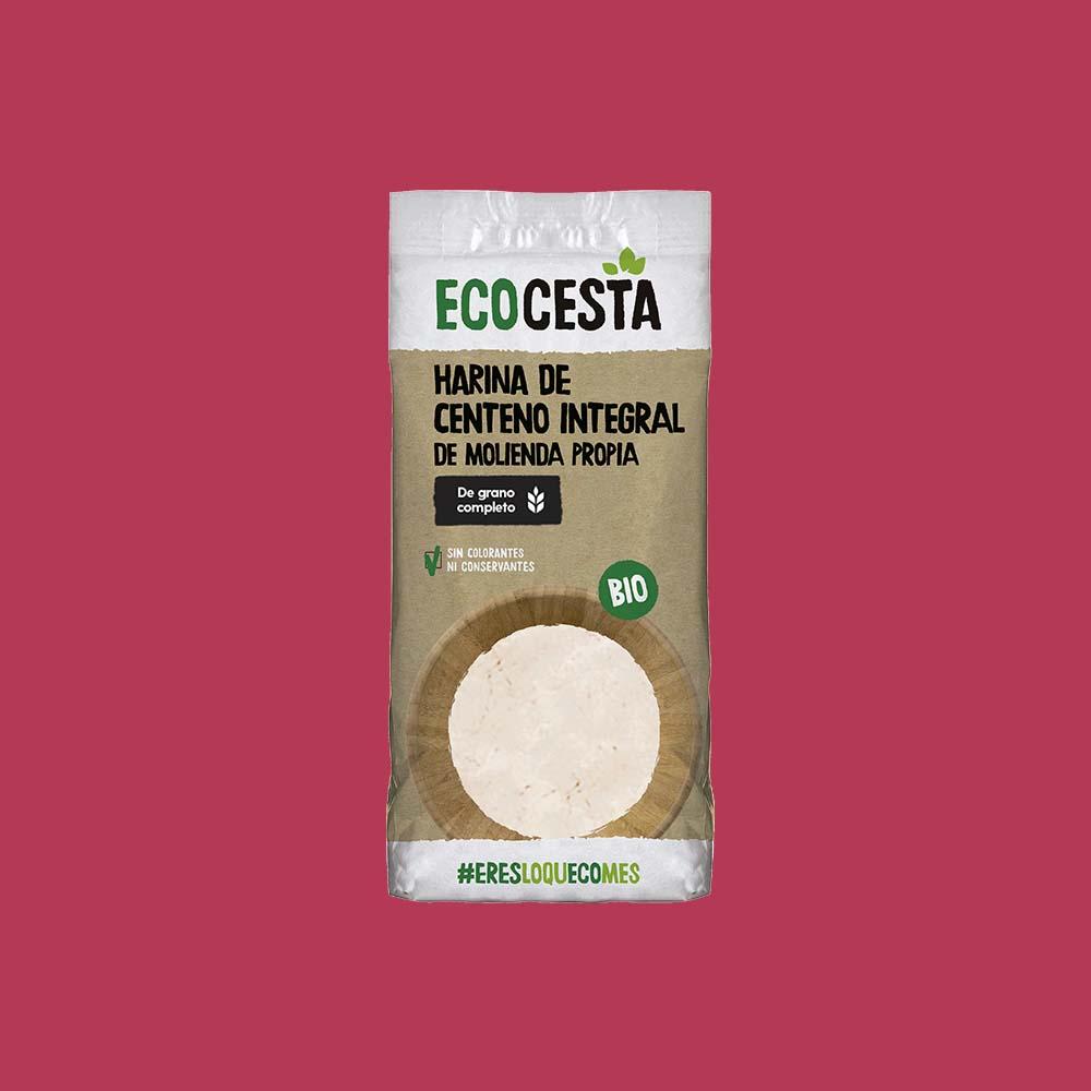 Harina de Centeno Integral Bio 500 g