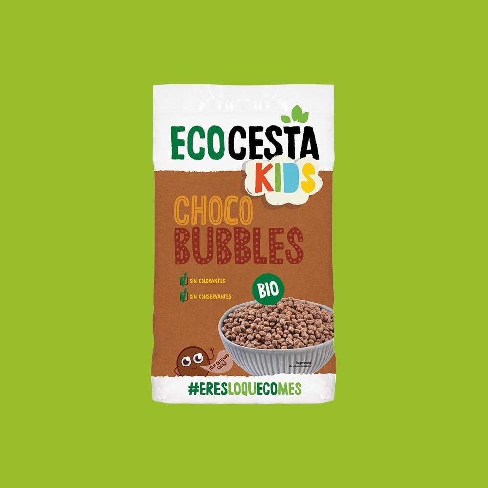 Choco Bubbles Bio, 375 g
