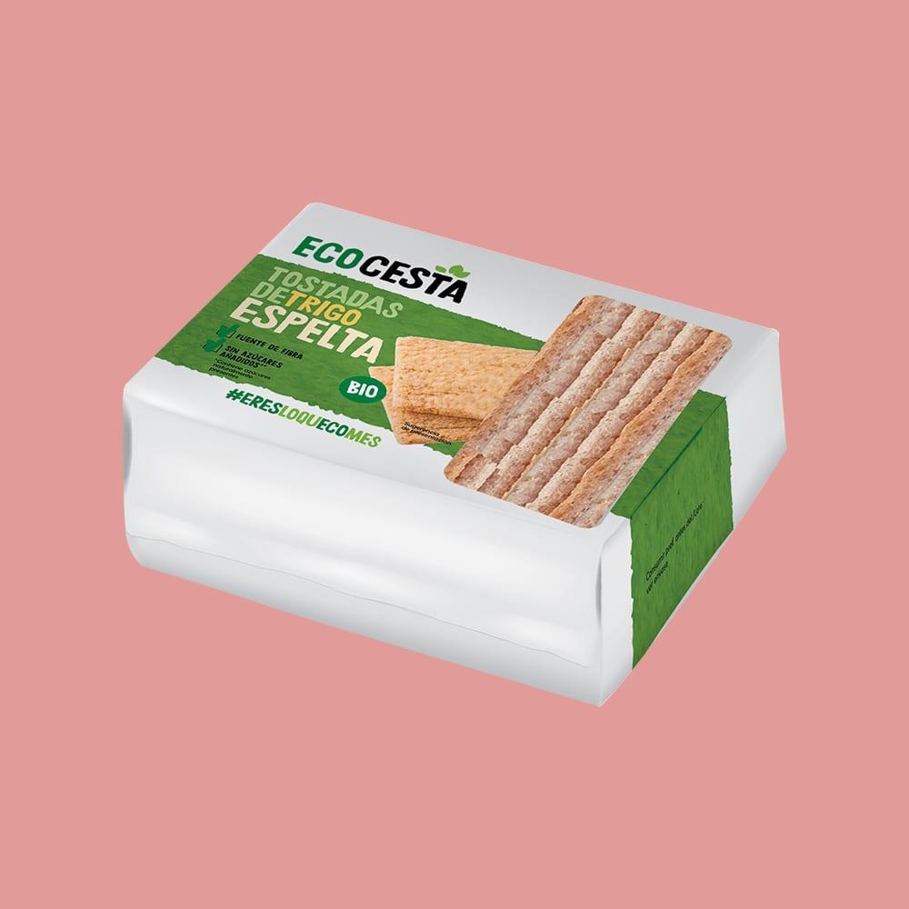 Tostadas de Trigo Espelta Bio, 100 g