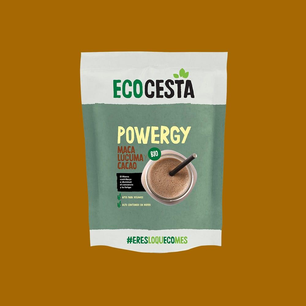 Powergy (Maca, Lúcuma y Cacao)Bio, 175 g