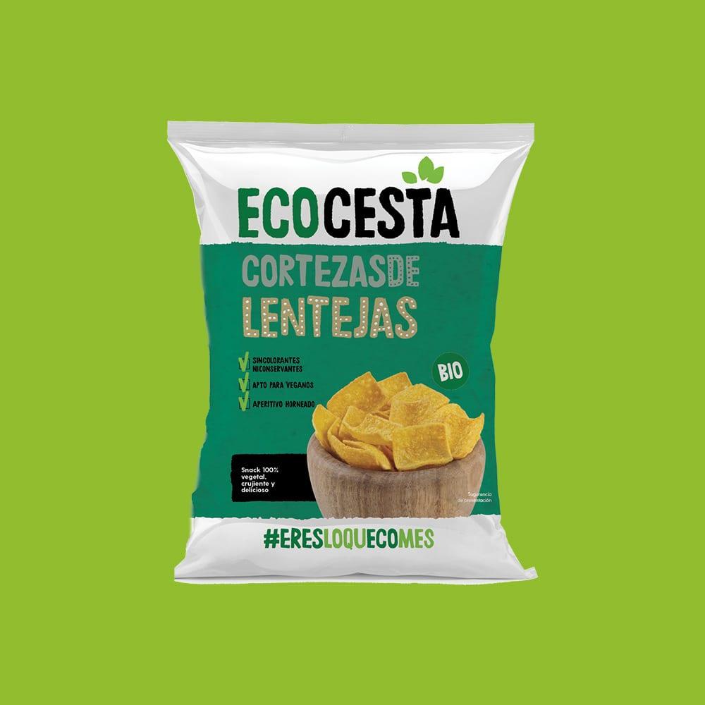 Cortezas de Lentejas Bio, 65 g
