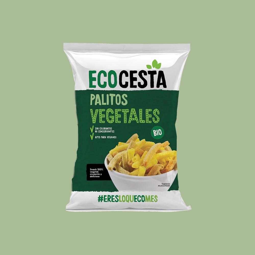 Palitos Vegetales Bio, 70 g