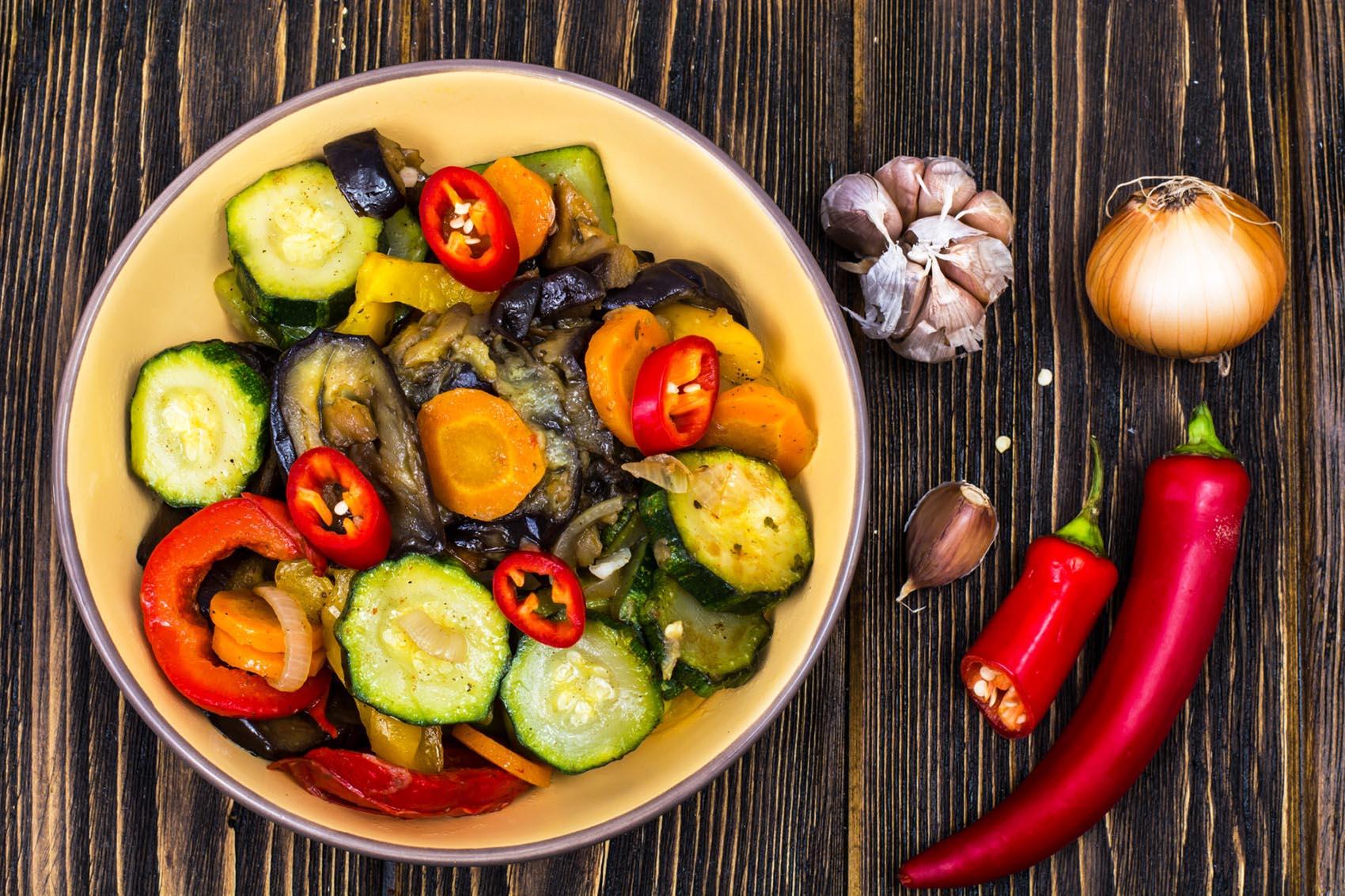 Timbal de Verduras con Soja Texturizada Bio