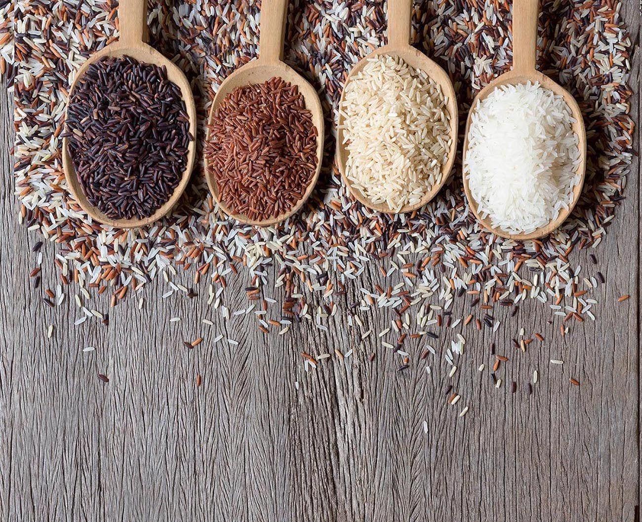 3 Tipos de arroz y cómo usarlos