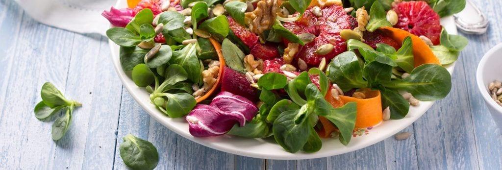 4 trucos para hacer ensaladas