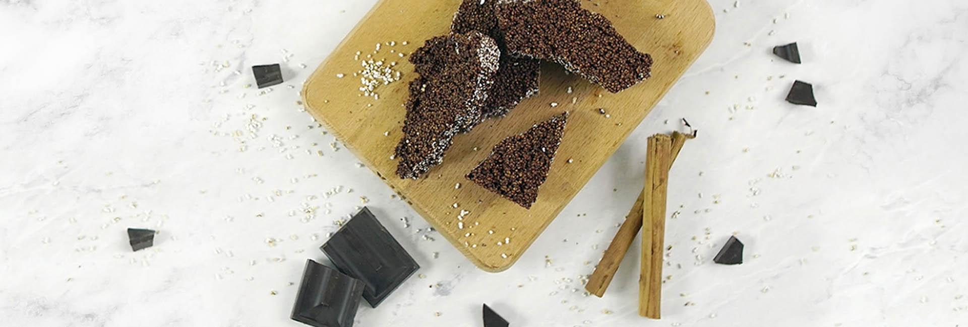 Chocolate crujiente sin azúcar