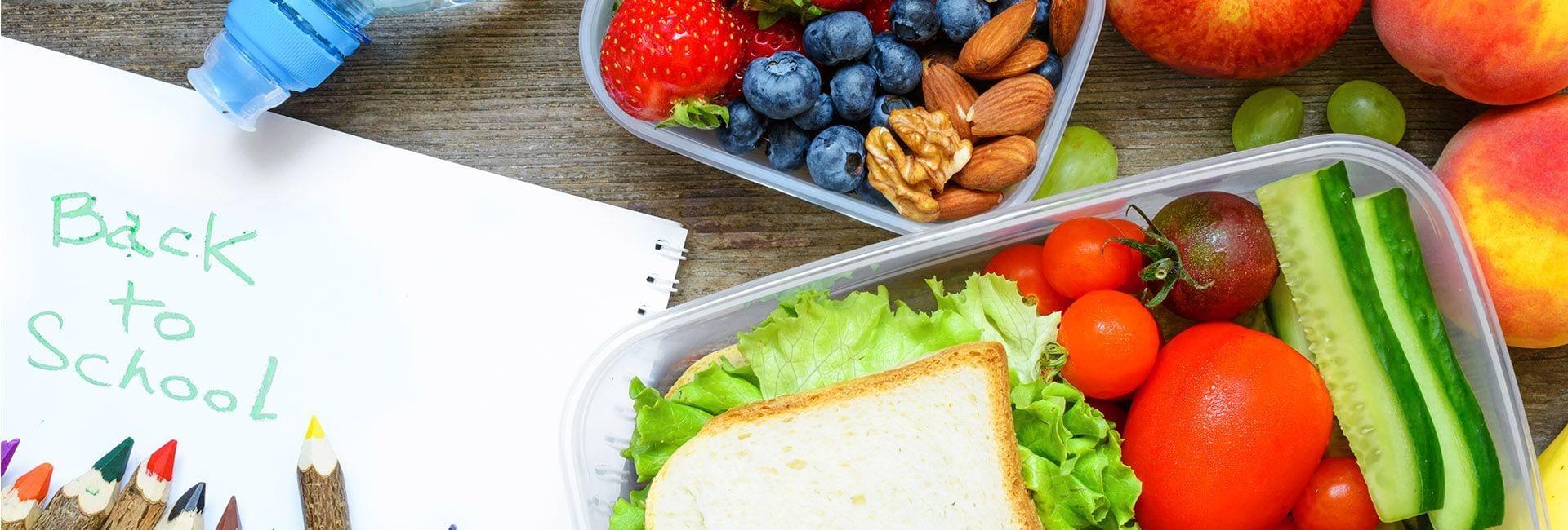 5 alimentos que no pueden faltar en la vuelta al cole