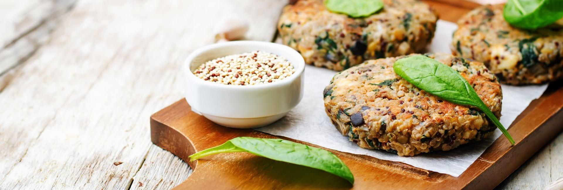 Hamburguesas de Trigo Sarraceno Bio y Verduras