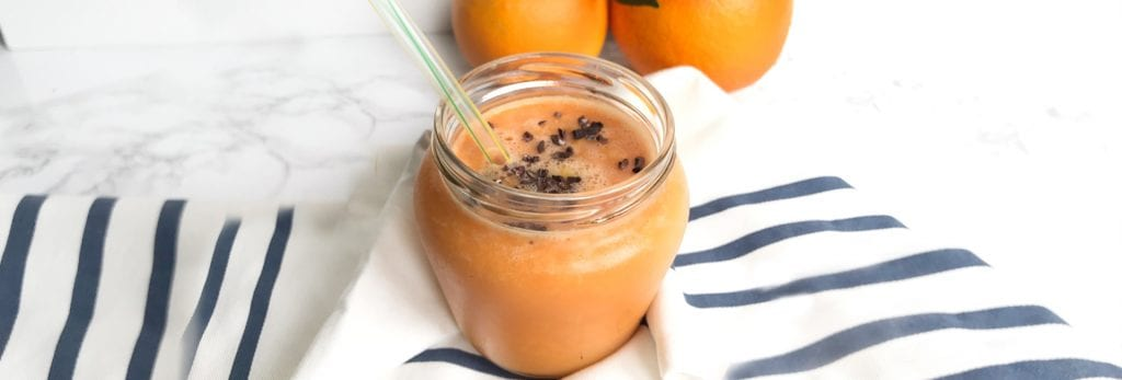 Smoothie de zanahoria y naranja