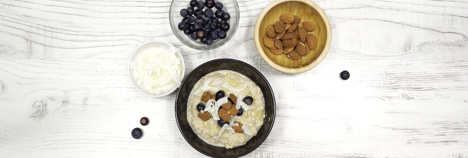 Porridge Dulce de Quinoa