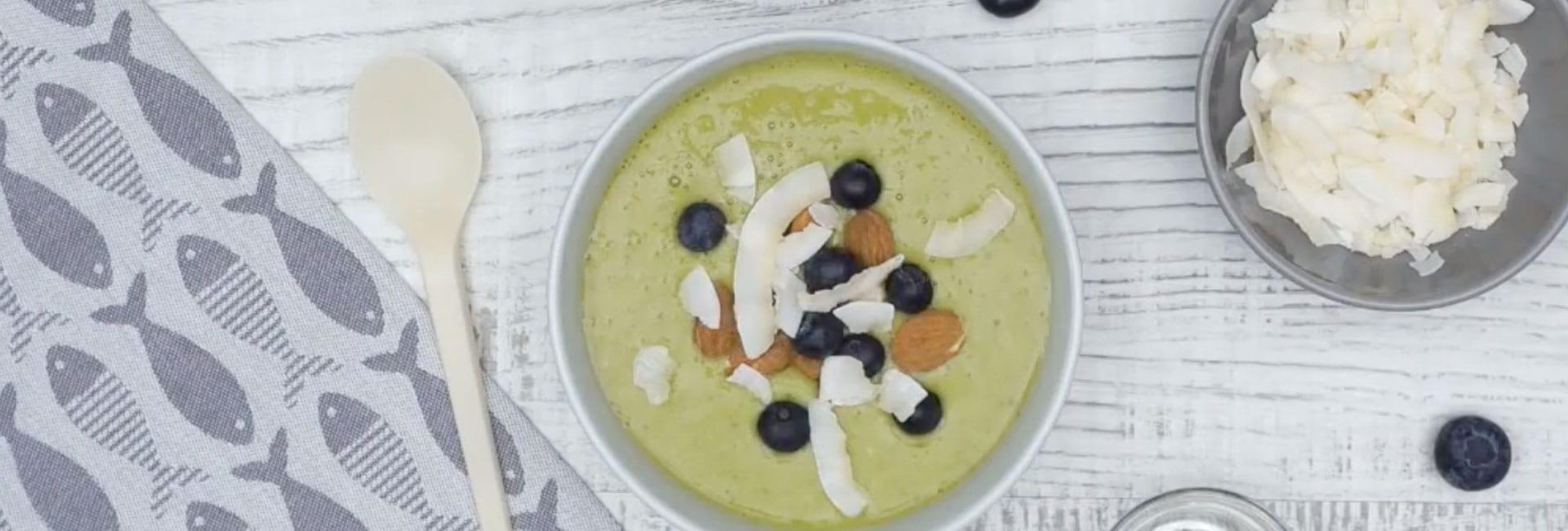 Prueba el smoothie bowl para desayunar