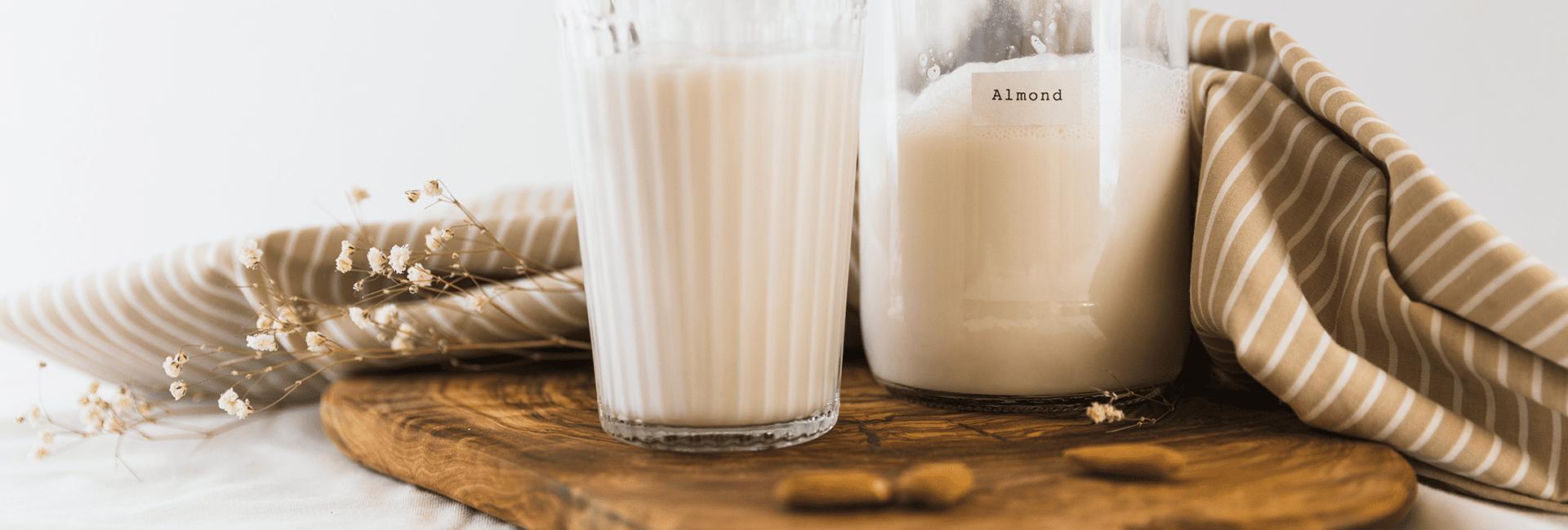 Alternativas saludables a la leche de vaca: bebidas vegetales