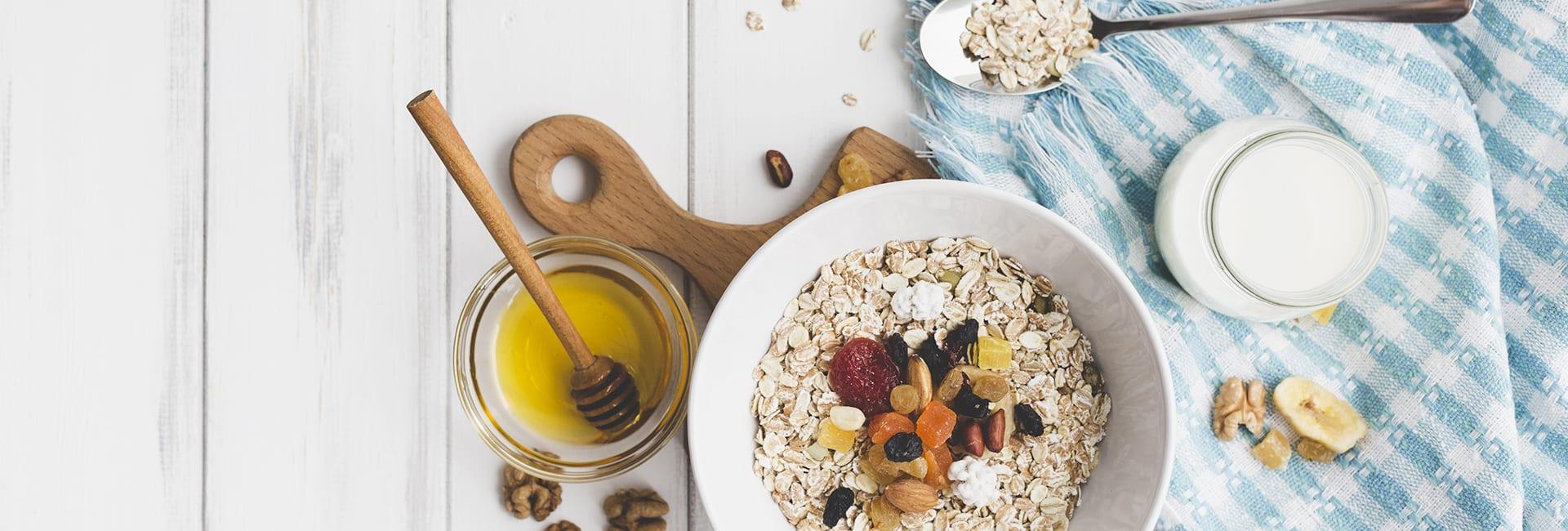 En verano: Cereales para desayunar