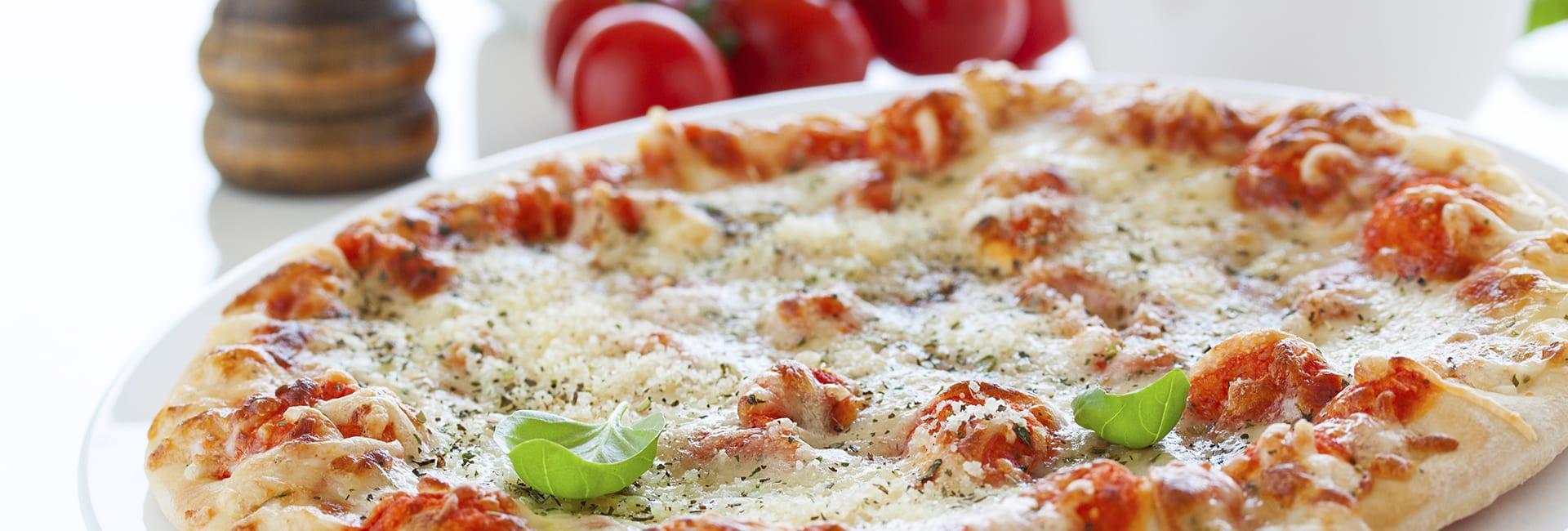 Pizza casera con loncheados