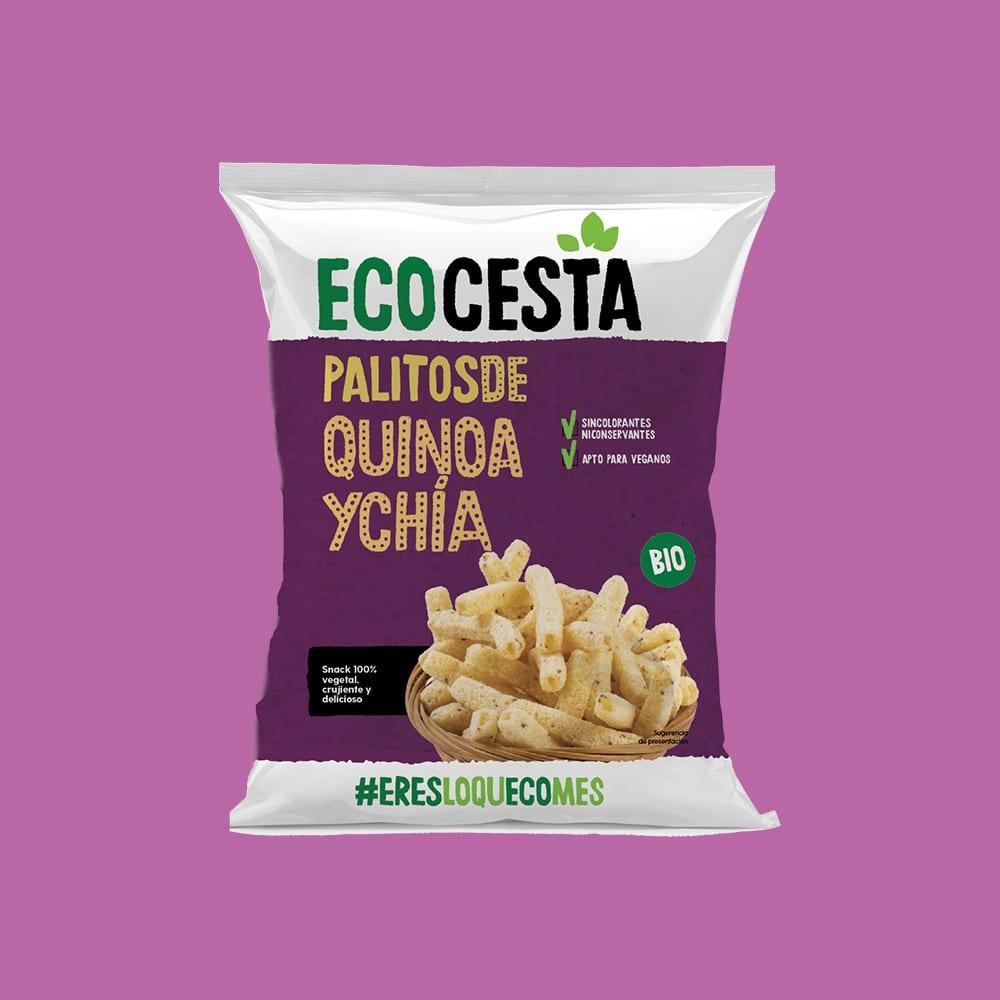 Palitos de Quinoa y Chía Bio, 75 g