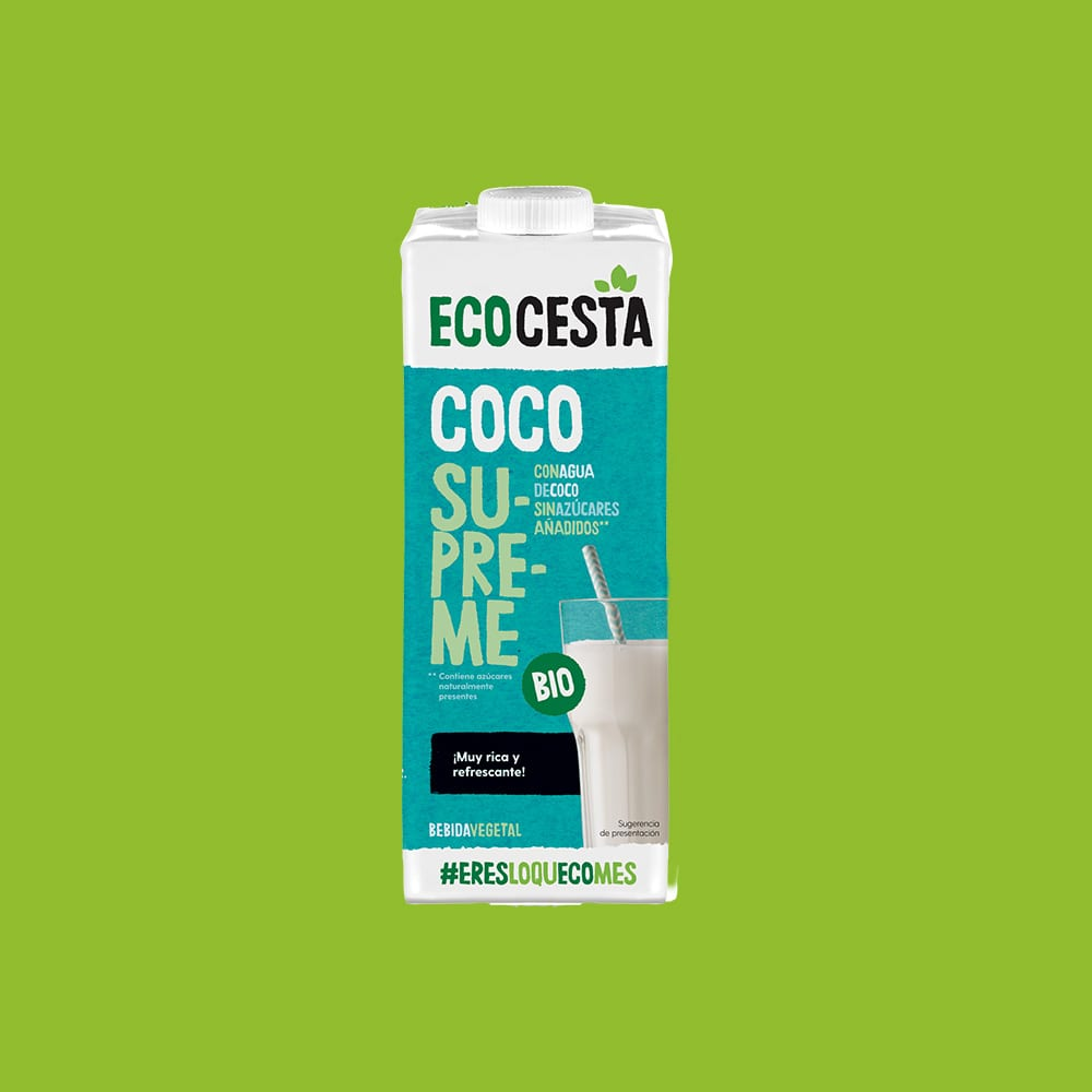 Bebida Vegetal de Coco Supreme Bio, 1L