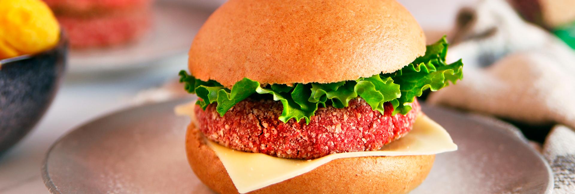 Burgers veganas de quinoa y garbanzos