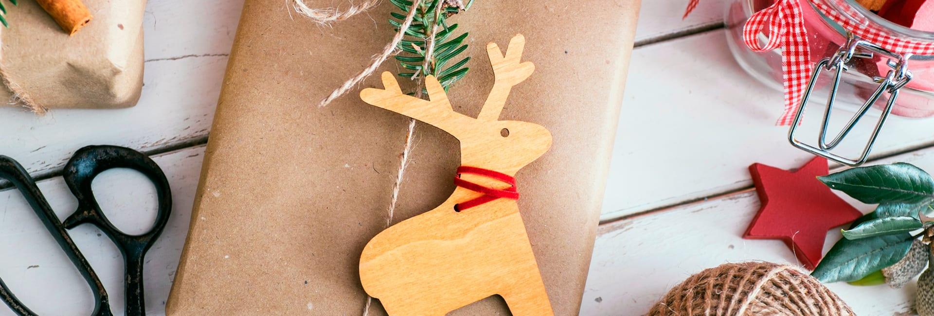 8 eco ideas para una decoración navideña sostenible