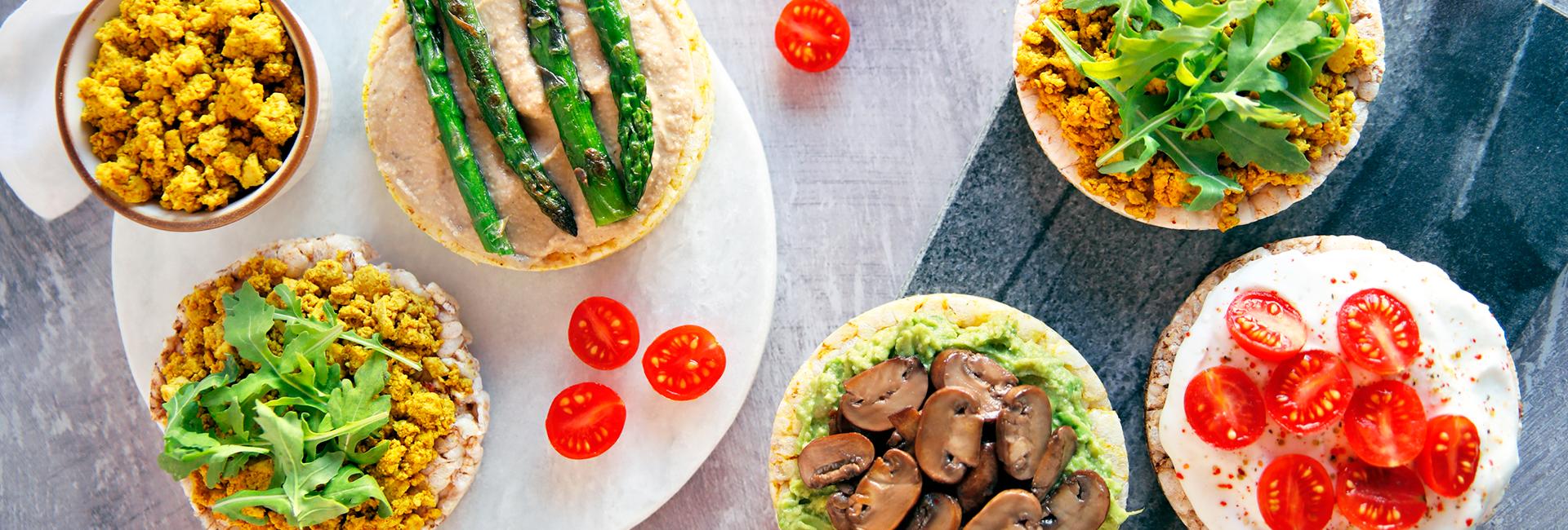 Cenas fáciles con tortitas Ecocesta