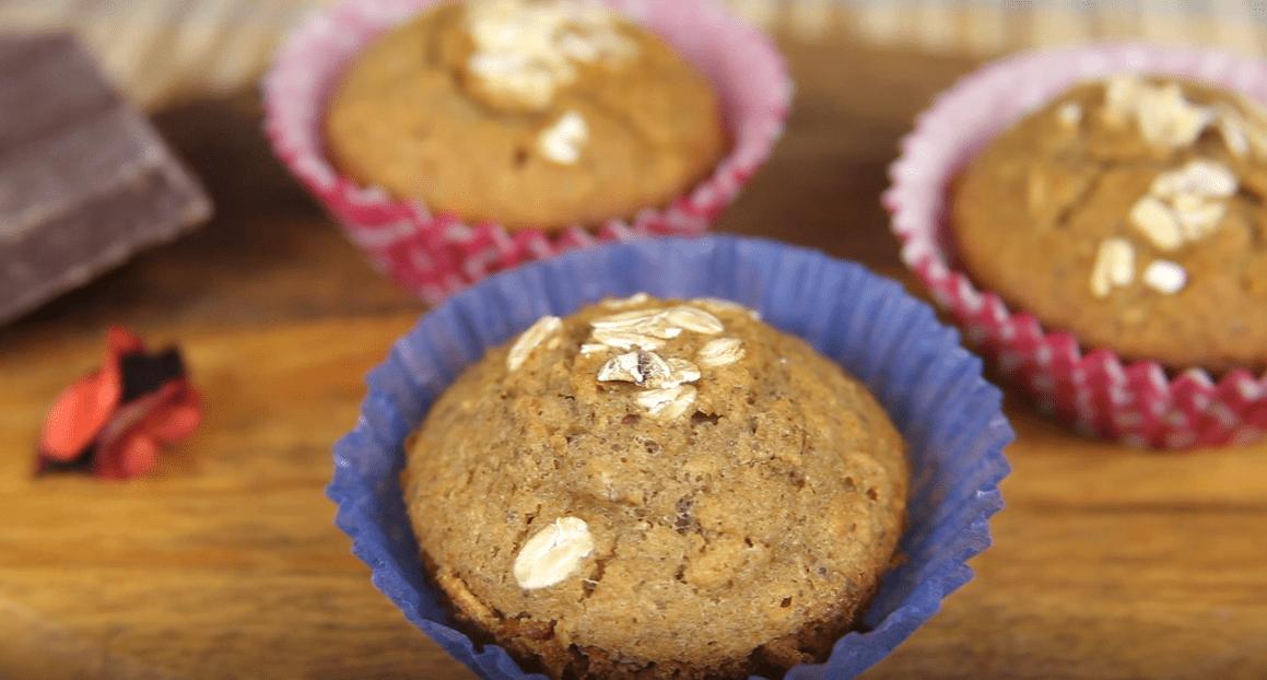 Muffin fitness con Muesli Frutas