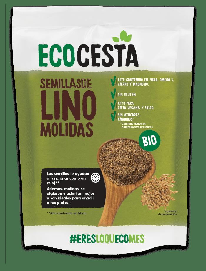 Ecocesta - Semillas de Lino Molidas