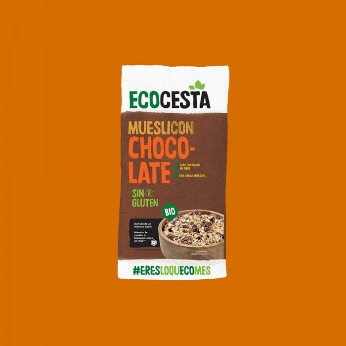 Muesli con Chocolate Sin Gluten Bio, 375 g